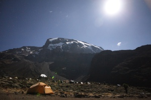 Kilimanjaro climbing trips on full moon dates