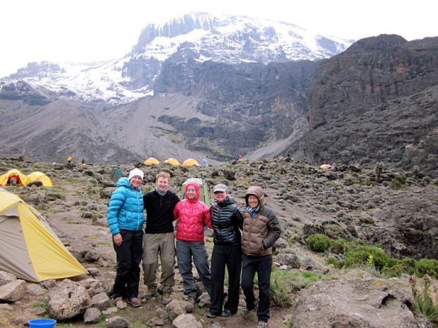 kili climb group